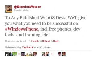 Брендон Уотсон о WebOS