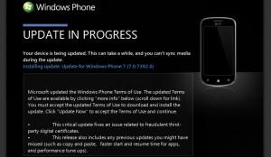 Принудительная установка Windows Phone Mango