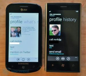 Twitter контакты не показываются в Windows Phone Mango