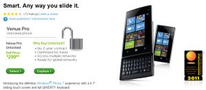 Dell по-тихому завершает продажи Venue Pro через AT&T и T-Mobile?