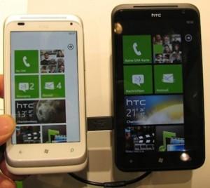 Titan и Radar на стенде HTC