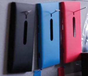 Силиконовые чехлы для Nokia Sea Ray показаны в видео о Nokia N9