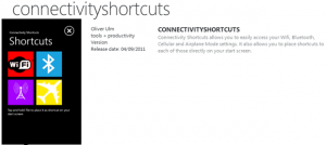 Connectivity Shortcuts