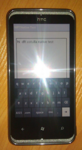 Тест нативного кода