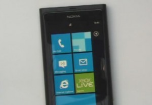 Первый WP7-смарфтон Nokia