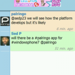 Порт Palringo для Windows Phone 7