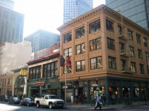 Снимок пригорода Сан Франциско
