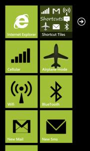 WP Shortcut Tiles