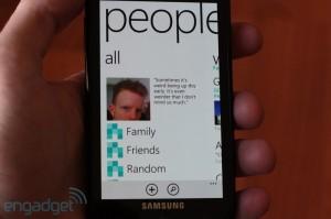 Email и общение в соцсетях в Windows Phone Mango