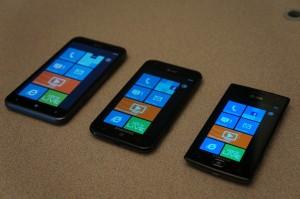 HTC TITAN, Samsung Focus S, Samsung Focus Flash