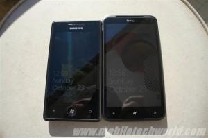 Samsung Omnia 7 против HTC Titan