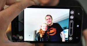 Face Tracking на HTC Titan