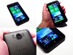HTC Titan в руках
