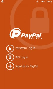 Домашняя страница PayPal