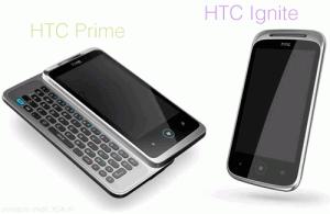 HTC Prime и HTC Ignite