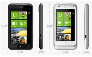 HTC Titan и HTC Radar