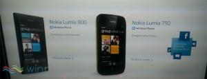 Nokia Lumia 800 и Nokia Lumia 710