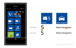 Nokia Pure vs Segoe WP