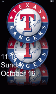 Rangers - lock screen