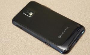 Обратная сторона Samsung Focus S