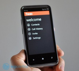    Tango   HTC Titan  Radar   WP-