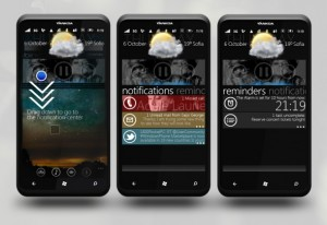 Концепт системы уведомлений для Windows Phone