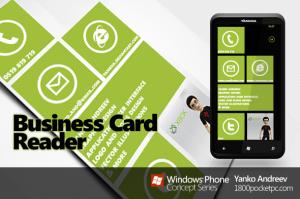 Концепт считывателя визиток для Windows Phone