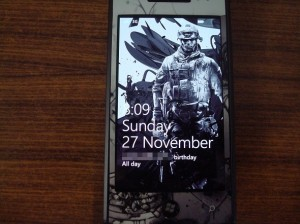 Обои Battlefield 3 для Windows Phone