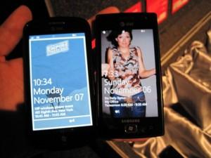 Samsung Focus и Samsung Omnia W