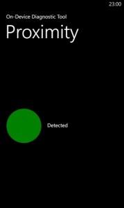 Тестирование датчик близости