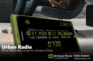 Концепт приложения Urban Radio