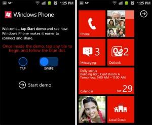 Возможность пользователям Android и iOS попробовать Windows Phone 7 через веб
