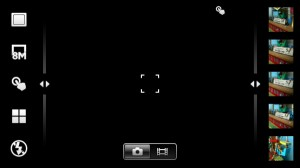 Интерфейс камеры Sony Ericsson Xperia arc S