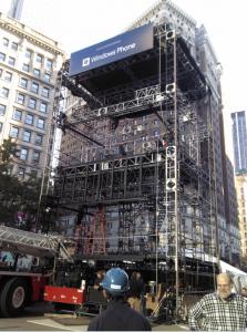 Презентация Windows Phone в Нью-Йорке