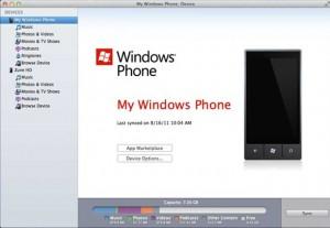 Обновился клиент Windows Phone 7 под Mac