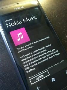 Приложение Nokia Music обновилось