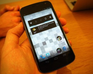 Ice Cream Sandwich на Samsung Galaxy Nexus