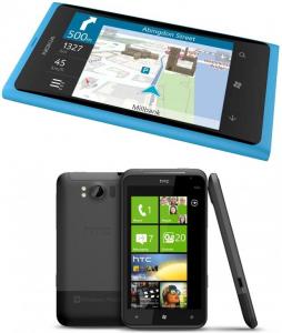 Сравнение скорости работы HTC Titan и Nokia Lumia 800