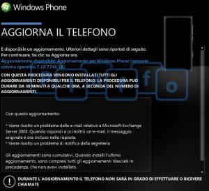 На смартфоны Windows Phone приходит обновление 7740