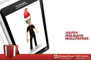 Рождественские обои для Windows Phone