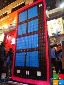 Гигантский WP-смартфон из 550 корпусов от Nokia Lumia