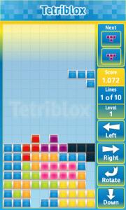 Обзор тетриса Tetriblox