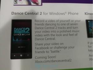 Dance Central 2 для WP7