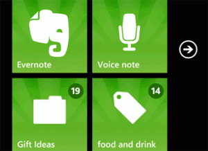 Новая версия Evernote для Windows Phone