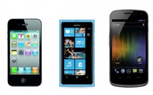 iPhone vs WP7 vs Android