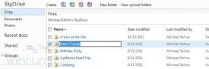 Обновлённый SkyDrive