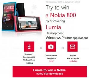 Microsoft France дарит Nokia Lumia 800