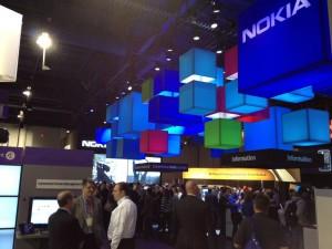 Стенд Nokia на выставке CES 2012