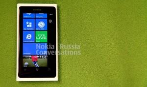 Белый вариант Nokia Lumia 800