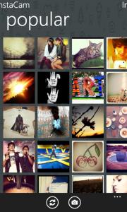 InstaCam - неофициальный клиент Instagram